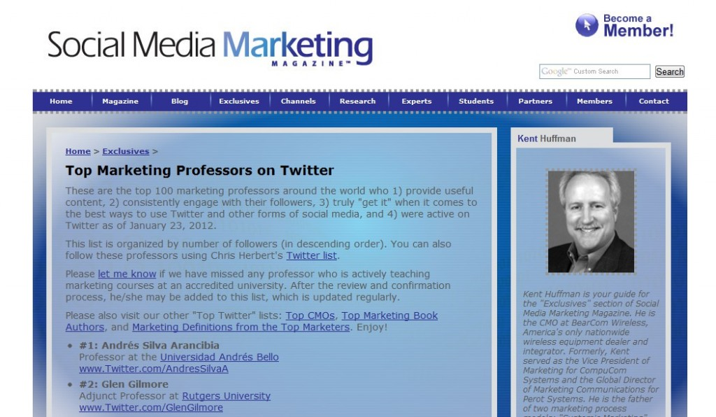 social-media-marketing-magazine-top-marketing-professors-on-twitter-part-1