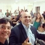 pedro-cordier-empreendedor-lider-coach-brascoaching-selfie-com-instrutor-moises-ribeiro-e-colegas-de-coaching